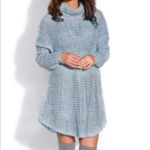 Dresses & Skirts - Dress Sweater Wool Blend Loose Fit  Size 10